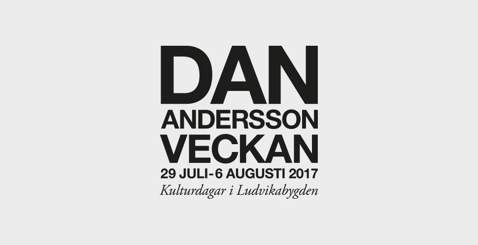 Dan Andersson-veckan 2017